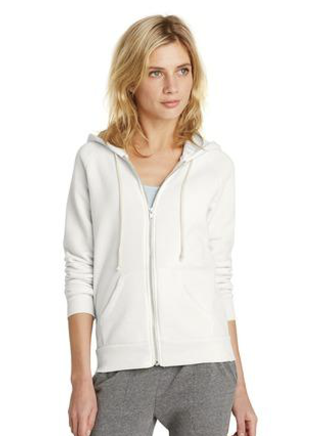 Alternative adrian eco-fleece zip hoodie. Available in many colors.