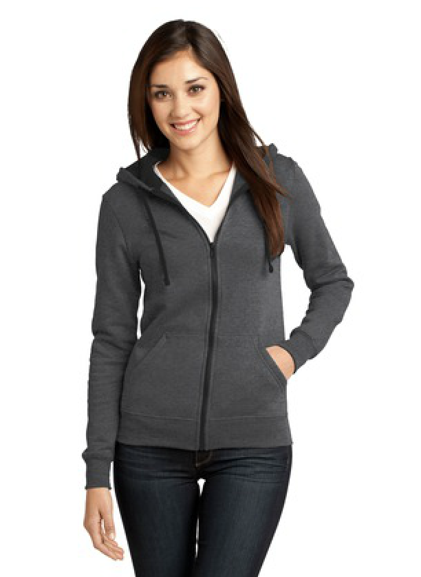 District Juniors the Concert Fleece Full Zip available in many colors. Call MarkIt Merchandise for a quote!