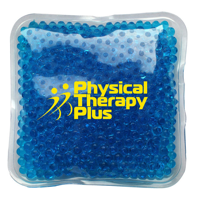 Navy blue gel bead hot and cool ice pack