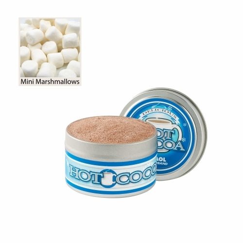 Gourmet Hot Chocolate Tin with mini marshmallows