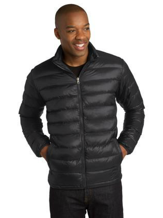 Black Port Authority Down Jacket, featured in different colors.