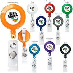 retractable badge holder available in multiple colors