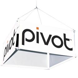 <b>10' 4-Sided Hanging Banner Kit</b>