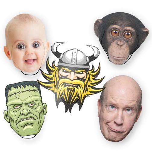 <b>Custom HD Face Mask</b>