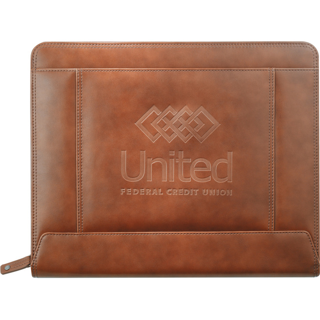 <b>Cutter & Buck Legacy Zippered Padfolio</b>