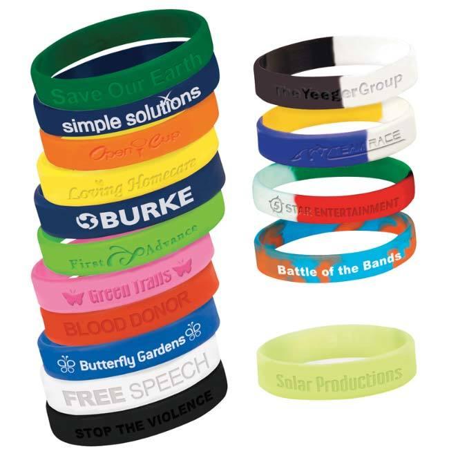 <b>Silicone Awareness Bracelet</b>