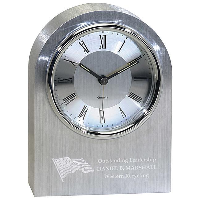 <b>Silver Arch Clock</b>