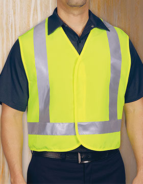 <b>Red Kap Hi-Visibility Safety Vest</b>