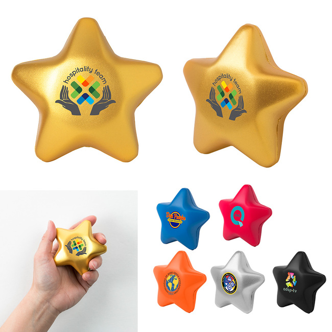<b>Star-Shaped Stress Ball</b>
