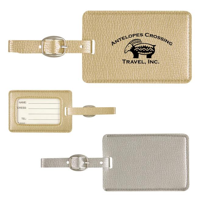 <b>Metallic Luggage Tag</b>