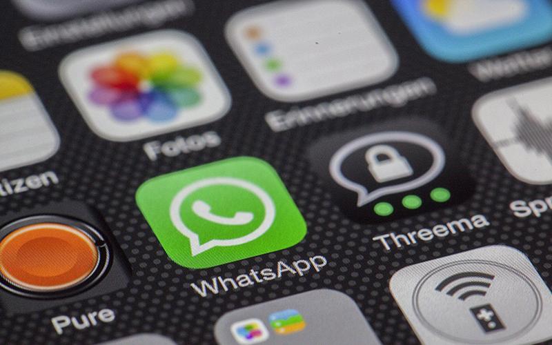 App Logos featuring WhatsApp