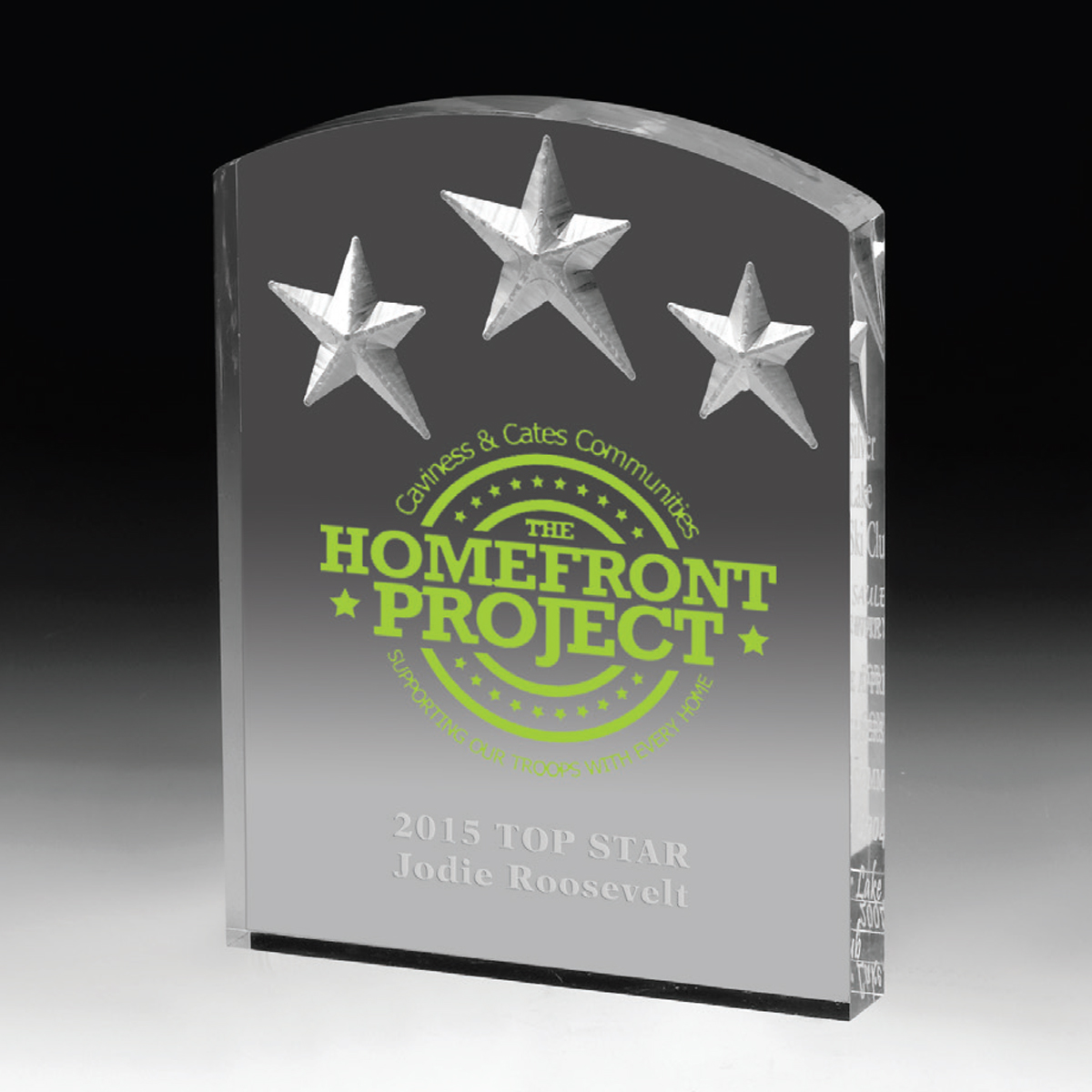 Freestanding Acrylic Awards