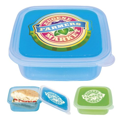 Freezable Gel Lid Storage Container