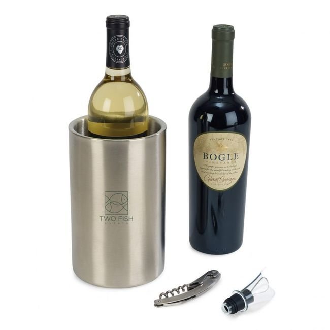 <b>Stainless Steel Wine Kit</b>