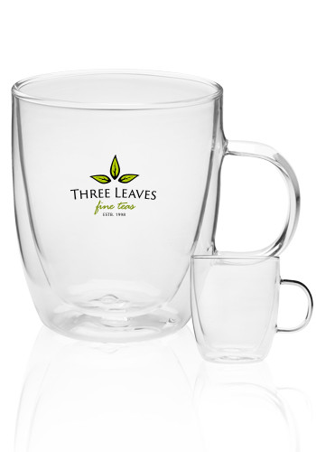 <b>Crystalite Double Wall Glass Coffee Mug</b>
