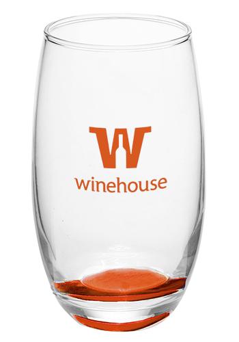<b>Mikonos Clear Stemless Wine Glass</b>