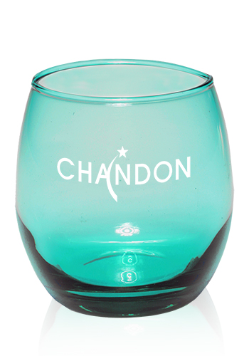 <b>Mikonos Green Stemless Wine Glass</b>