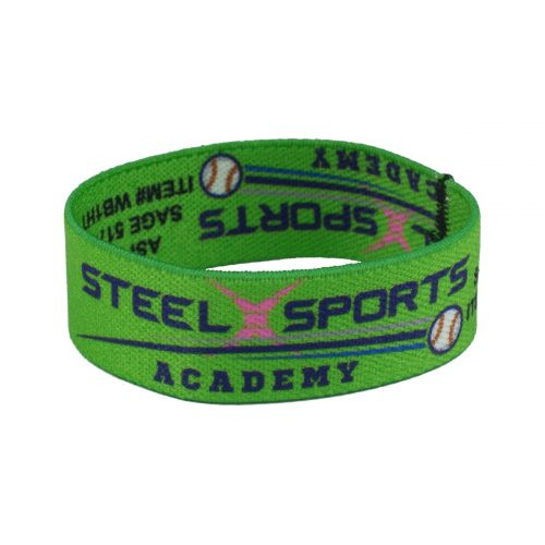 Stretchy Elastic Dye Sublimation Wristbands