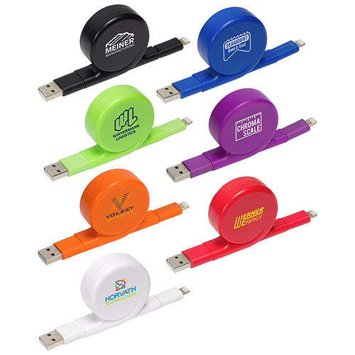 <b>All-In-One Retractable Charging Cable</b>