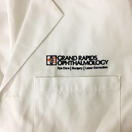 Grand Rapids Ophthalmology Embroidered Jacket