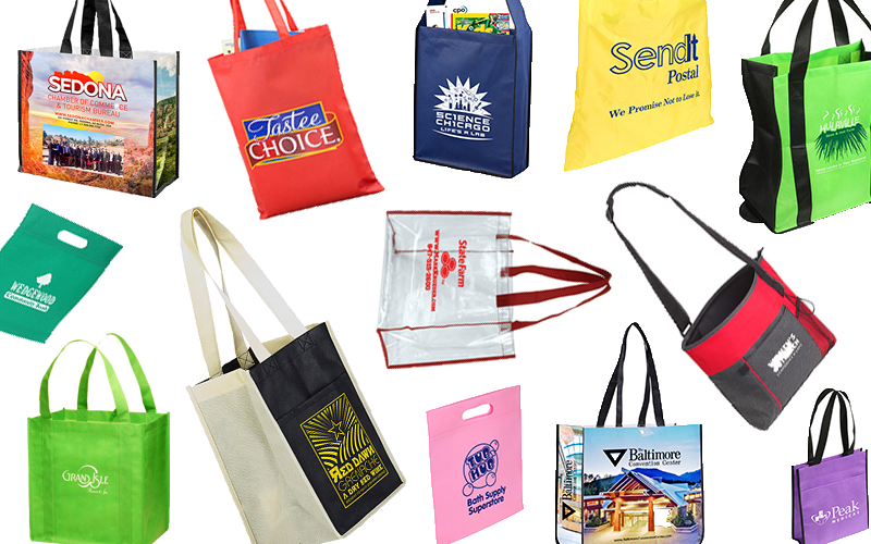 Tote Bag Banner, featuring tote bags for your company at MarkIt Merchandise.