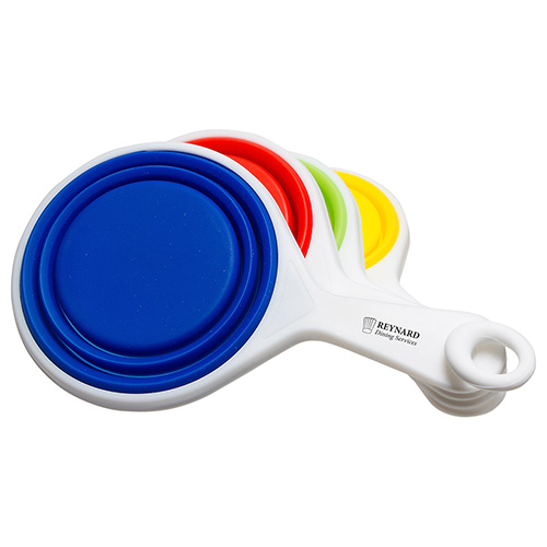 Pop-Out Silicone Measuring Cups