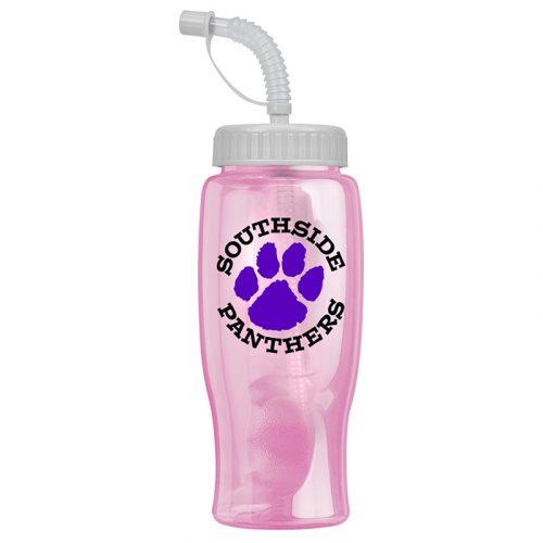 Transparent Bottle-Straw