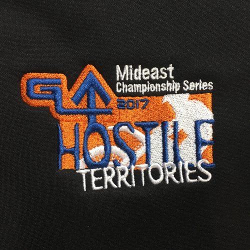 GLMX Mideast Championship Series Hostile Territories Embroidery