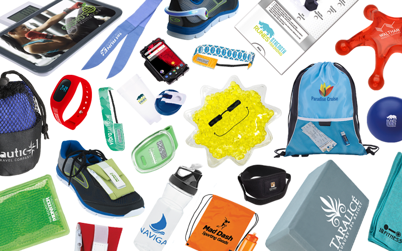 Fitness Products Banner featured on MarkIt Merchandise's blog