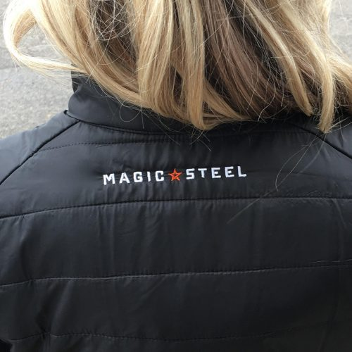 Magic Steel Embroidered Logo