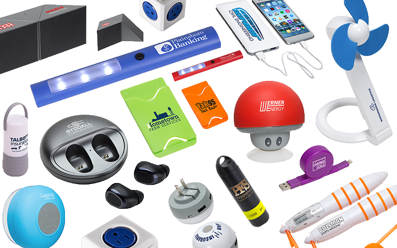Promotional Tech Products Banner
