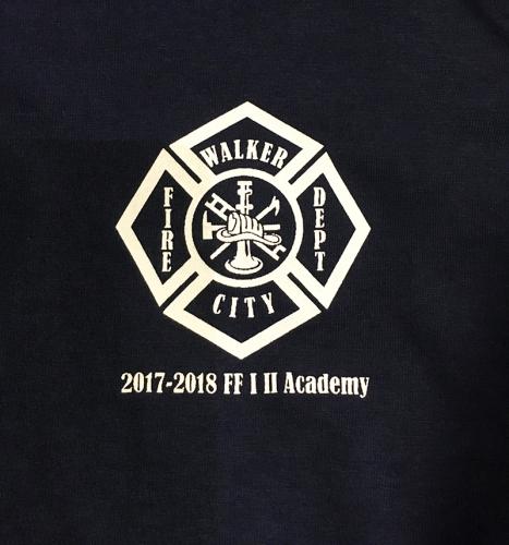 Walker Fire Department Screen Printed T-Shirt