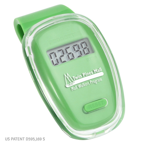 Fitness First Pedometer Green