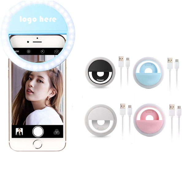 Chargeable Selfie Ring Light